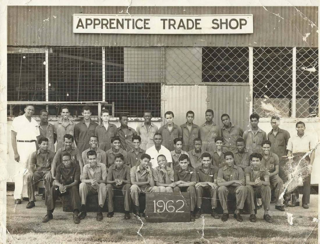 Texaco ( Petrotrin ) Apprentice class of 1962