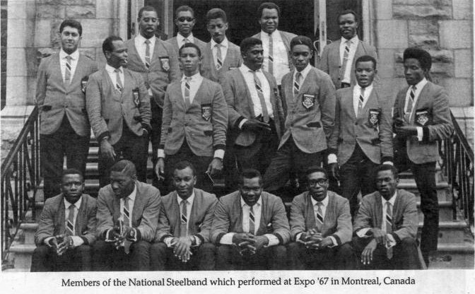 national steelband